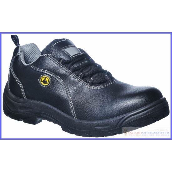 Compositelite ESD félcipő, bőr felsőrésszel, S1