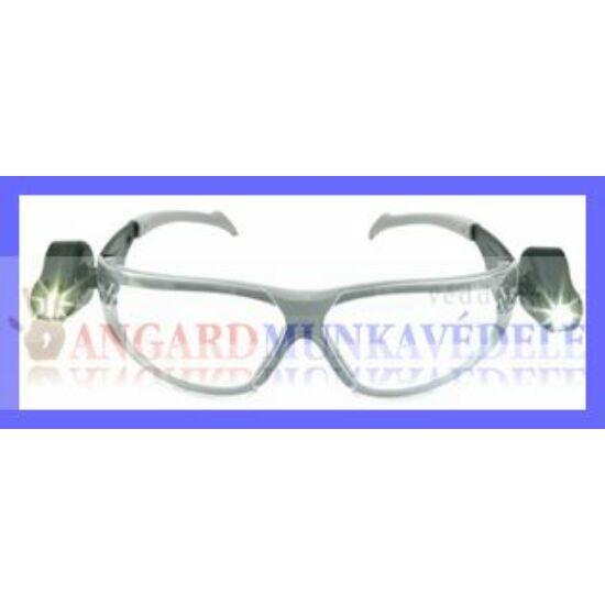 Peltor Led Light Vision  két oldalra beépített, forgatható, elemes LED lámpa, szemüveggel