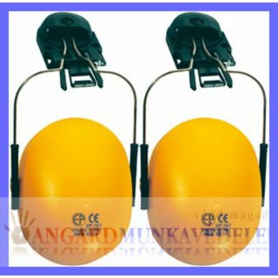 Earline sisakra szerelhető, sárga fültok állítható fémpánttal (SNR 23dB)