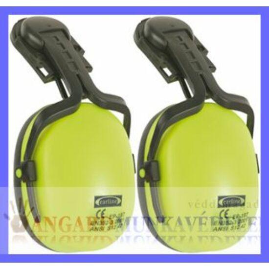 Earline sisakra szerelhető, jó láthatóságú fluo sárga fültok  (SNR 23dB)