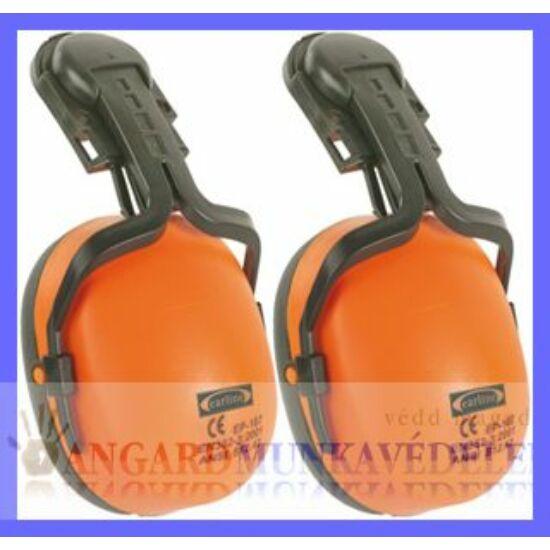 Earline sisakra szerelhető, jó láthatóságú fluo narancs fültok  (SNR 23dB)