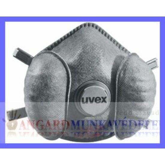Uvex Exxcel FFP2 R D climatec 3 kamrás (2 belégző-, 1 kilégzőszelepes) részecskeszűrő maszk