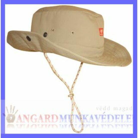 Carewear Classic kalap, beleszőtt UPF 50+, homok szín, patentos karima, felnőtt méret