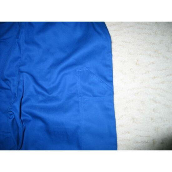 Derekas nadrág kék pamut