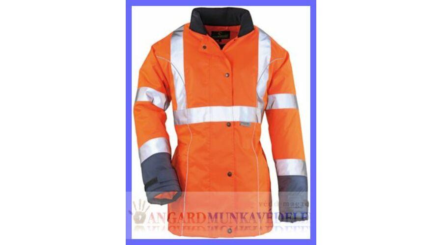 691f2df799 AIRPORT LADY narancs/kék Breathane® női kabát - Jól láthatósági ...
